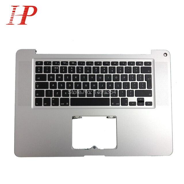 2011 Год Оригинальный Крышки Экрана Для Macbook Pro A1286 15 ''Упор Для Рук Topcase С Клавиатуры запястий Европейская Версия