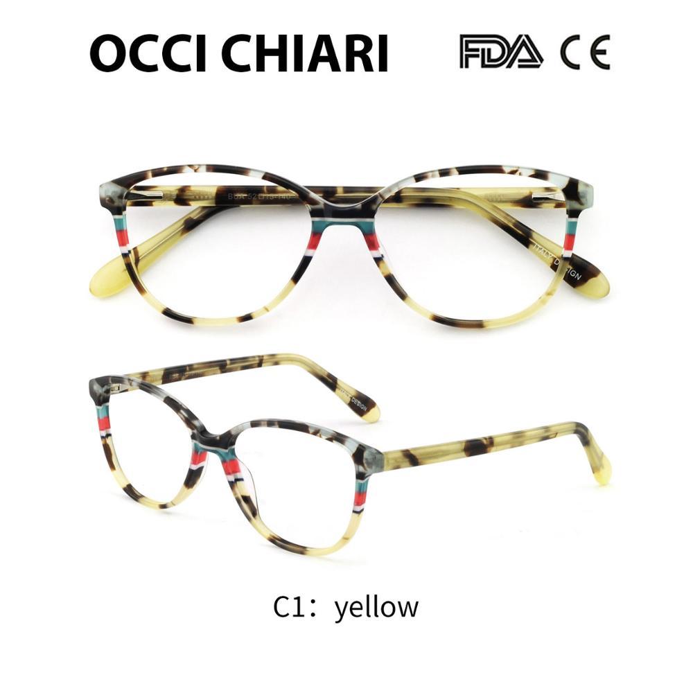 234447ef61 Dropwow OCCI CHIARI Italy Design Spring Hinges Prescription Lens ...