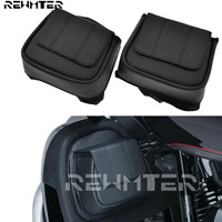 Tool Bags For Harley Touring Road King Road Glide Street Glide 2014 2018 Black Lower Vented Leg Fairing Bags