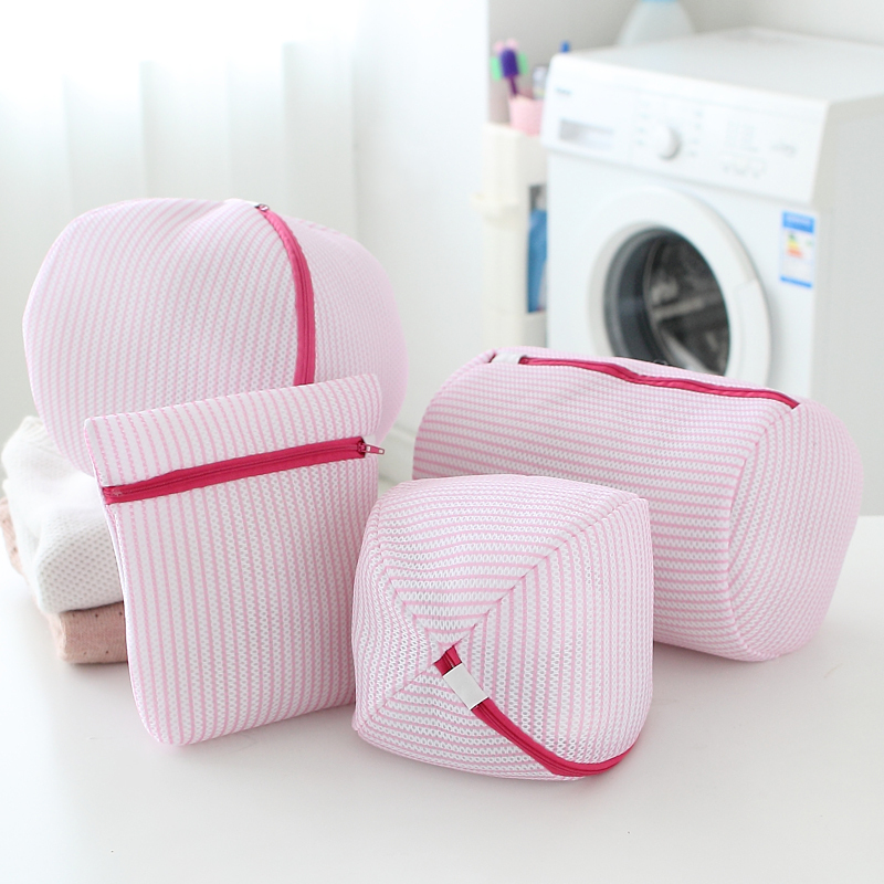 Women bra laundry bags lingerie washing hosiery saver protect aid mesh bag cube phchh auuu cbbb - Protect clothes colors washing ...