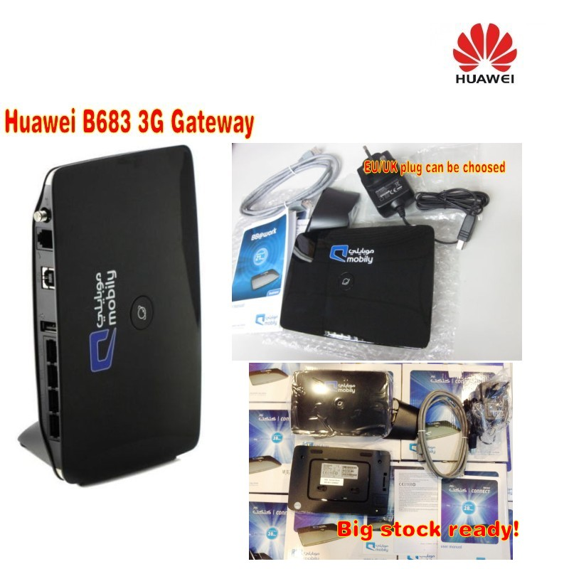 28M HUAWEI B683 Router support SIM and WAN LAN