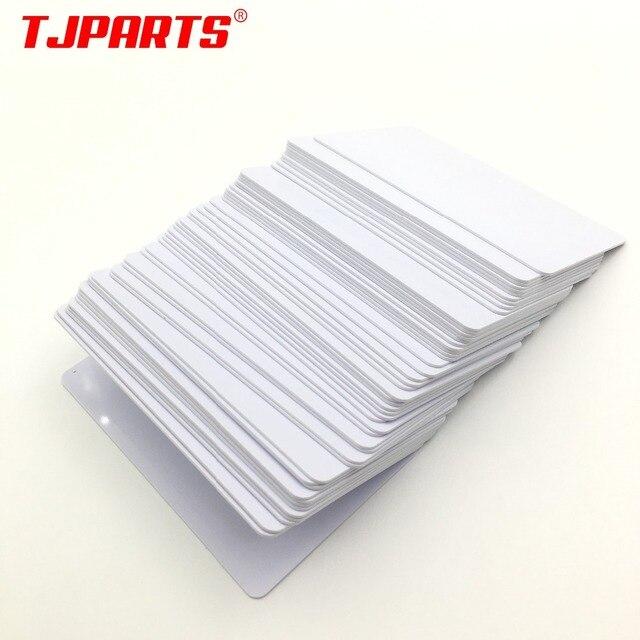 100 Brillant Blanc Jet Dencre Imprimable PVC Carte Etanche En Plastique D