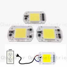 LED COB Lamp Chip 20W 30W 50W 220V/110V Input Smart IC Driver Fit For DIY LED Floodlight Spotlight Cold White Warm White цены онлайн