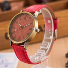 2017 New Design Canvas Quartz Watches Women Men Unisex Fashion Casual Antique Leather Sport Dress Watch Wristwatches Clock Gifts