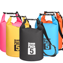 5L Waterproof Water Resistant Dry Bag Sack Storage Pack Pouch Swimming Outdoor Kayaking Canoeing River Trekking Boating