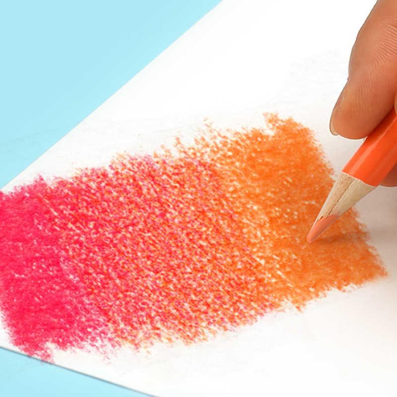 Brutfuner 120/160 kolorów profesjonalny kolor oleju zestaw ołówków malowanie artystyczne szkicowanie kolor drewna ołówek szkolne artykuły artystyczne