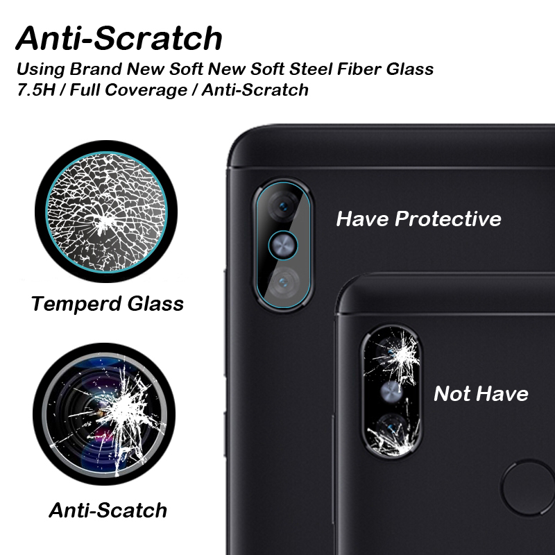 Back Camera Lens Tempered Glass For Xiaomi Mi 8 SE A2 A1 6X 5X 5S Plus Mix 2S Redmi Note 5 Pro A1 S2 Protector Protective Film