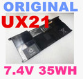 Batería 7.4 v 4800 mah 35wh original para asus ux21 ux21edh52 c23-ux21 batería del ordenador portátil