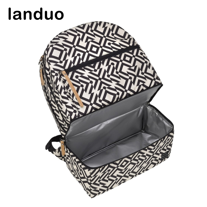 landuo LAND Diaper ag Fashion Mummy Maternity Nappy Bag Travel Backpack Diaper Organizer Nursing Bag For Baby Stroller все цены