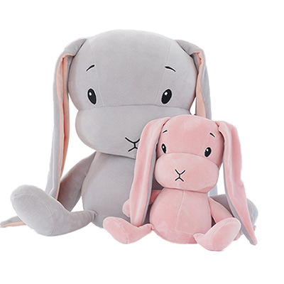 70cm 50CM 30CM Cute Rabbit Plush Toys Bunny Stuffed Plush Toy Cute Pillow For Baby Sleeping Gift