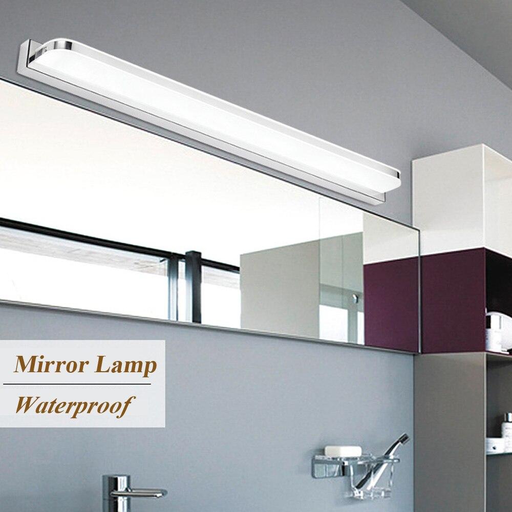 Style moderne LED IC applique murale 3 W/9 W/12 W salle de bain lumière murale LED miroir applique murale mise à jour 2835 puces LED