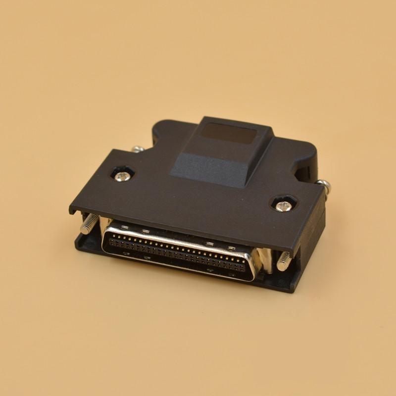 MR-J3CN1 SM-50 PJ SCSI-50 50P SCSI CN50 Pin CN50P For Panasonic Yaskawa Mitsubishi Delta Servo Motor Drive IO Control Connector