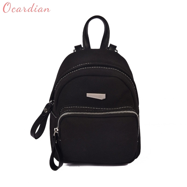0cc55070d4 OCARDIAN mochila Women Fashion Casual Ladies Candy School Style Solid  Student Mini Backpack Made in China Casual  30 Gift