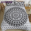 AHSNME 1pcs Duvet Cover 2Pcs Pillowcase A Variety Of Colors Bohemian Bedding Set North American Size