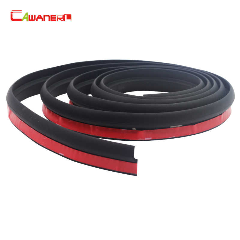 Cawanerl 2 Meter Z-Vorm Auto Rubberen Afdichting Strip Sound Noise Isolatie Auto Deur Afdichting Strip Afdichting Edge Trim 200 CM
