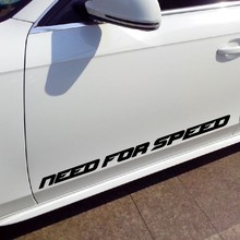 Need For Speed Vinyl Car Window Decal Waterproof car stickers and decals wall sticker /BLACK/Reflect SILVER