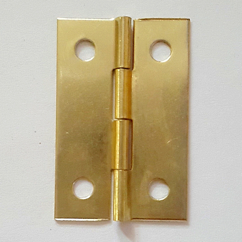 100pcs 22*34mm Gold Rectangular Hinge Cabinet Accessories Door Anti-theft Deduction Wooden Box Door Cabinet Furniture Fix 10pcs gold mini butterfly door hinges cabinet drawer jewellery box hinge furniture hinge s diy hardware tools mayitr