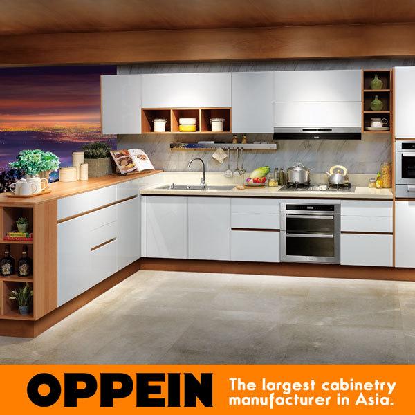 China Laminate Modern Kitchen Cabinet Simple Designs Op15 038