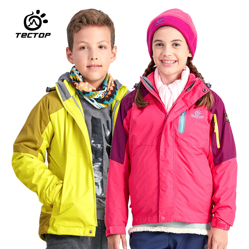 Aliexpress.com : Buy Brand Winter 3 in 1 Kids Hiking Jackets ...