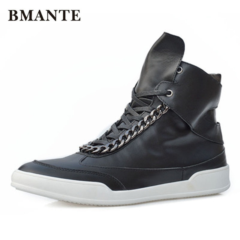 New Men Genuine Leather Shoes Luxury Trainers Winter Male Adult Ankle Boots Casual Lace-up Flats Spring Black Shoes luxury trainers summer male adult shoes new men genuine leather shoes casual lace up business flats spring black shoes