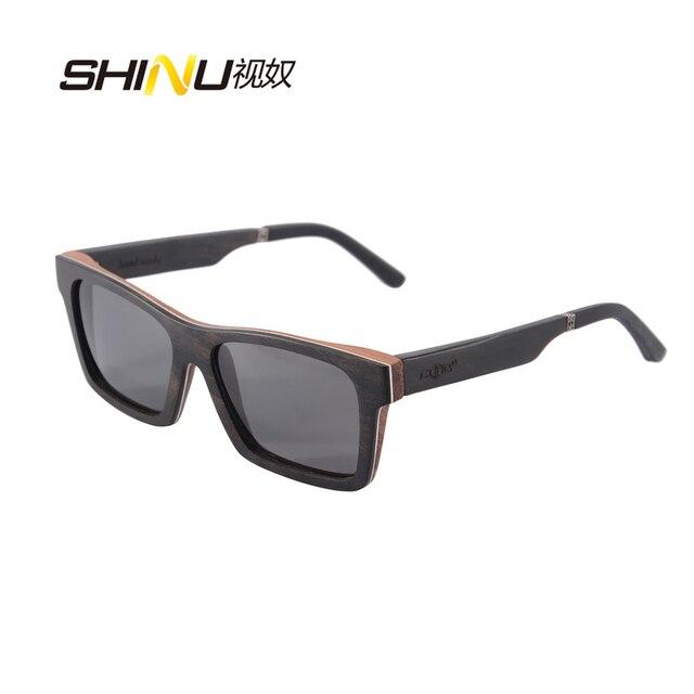e9bf1ffed1 Man Wood Sunglasses Women Brand Designer Polarized Driving Glasses UV400  Protection Summer Eyewear Fashion Shade Oculos De Sol