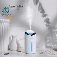Mini USB Aroma Essential Oil Diffuser Ultrasonic Cool Mist Humidifier Air Purifier LED Night light Office Home Car Fogger Mist