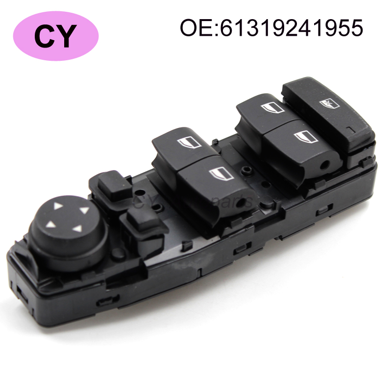 Front left Electric Power Window Lifter Master Control Switch for BMW5 BMW 5 520 525 530 6131 9241955 61319241955 front left electric power window lifter master control switch for bmw 61319241915 6131 9241 915