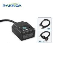 Rakinda LV3000U промышленных 2D стационарными сканер штрих кода/паспорт OCR МСЗ reader модуль для киоск и самообслуживания терминала