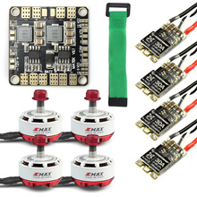 Mini RC Racing Drone Brushless Motor ESC Combo 4x EMAX RS2306 2400KV & Mini ESC BLHeli-s 30A + Mini Power Distribution Board цены