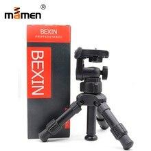 Mini Tripod Macro Professional Outdoor Photo Studio Camera Tripod Monopod 360 Pan Head Lightweight For Canon
