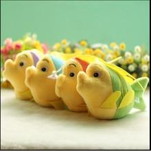 1 ШТ новый морской тропические рыбы кулон плюшевые игрушки куклы свадебные подарки бросать игрушки для детей