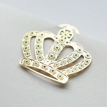 1Pcs/set Cute Bookmark Metal Crown Office Accessories Cute Animal 3*2.7cm Bookmarks For Books Metal Clips Paper School Supplier
