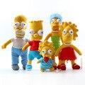 Мультфильм Симпсоны Плюшевые Игрушки Симпсоны Fmaily Фаршированные Плюшевые Игрушки Куклы 22-40 см
