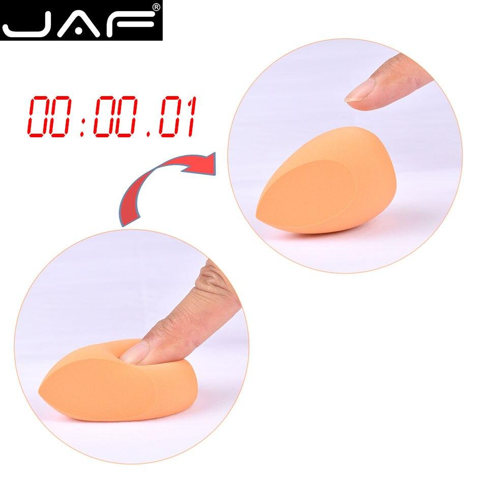 JAF Cosmetic Powder Puff Makeup Sponge Blender Foundation Make Up Sponge for Face Soft Miracle JAF Cosmetic Powder Puff Makeup Sponge Blender, Foundation Make Up Sponge for Face, Soft Miracle Complexion Concealer Makeup Egg