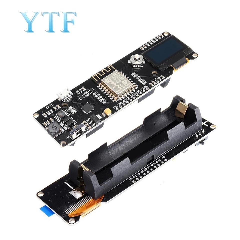 ESP-12F ESP8266 Wifi Module ESP8266 18650 Batteries NODEMCU 0.96