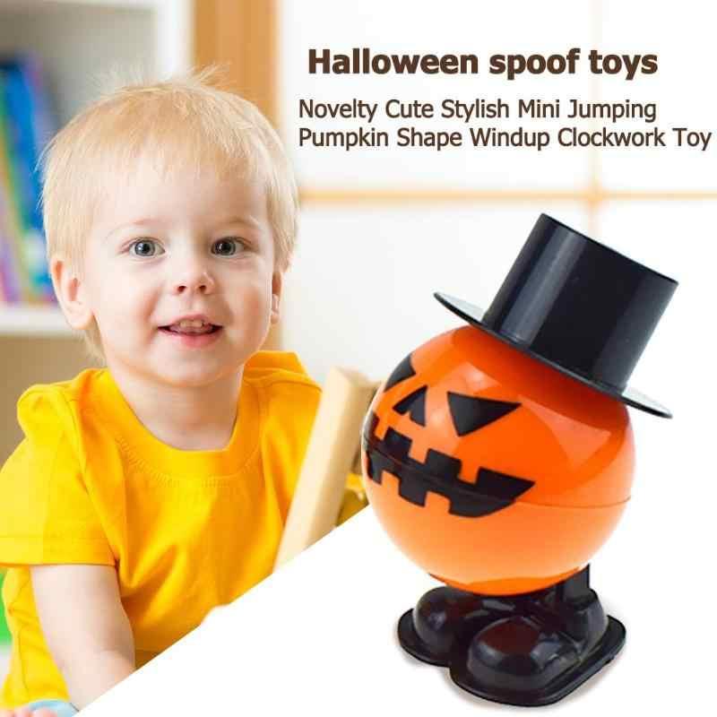 Baby Funny Kids Toys Novelty Leuke Stijlvolle Mini Springen Pompoen Vorm Windup Clockwork Speelgoed Cadeau voor Kinderen Jongens Meisjes