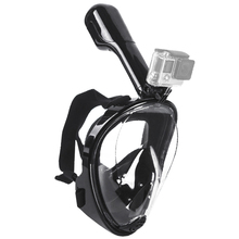 S/M Swimming Diving Snorkeling Full Face Mask (Child type)  Surface Scuba for Gopro