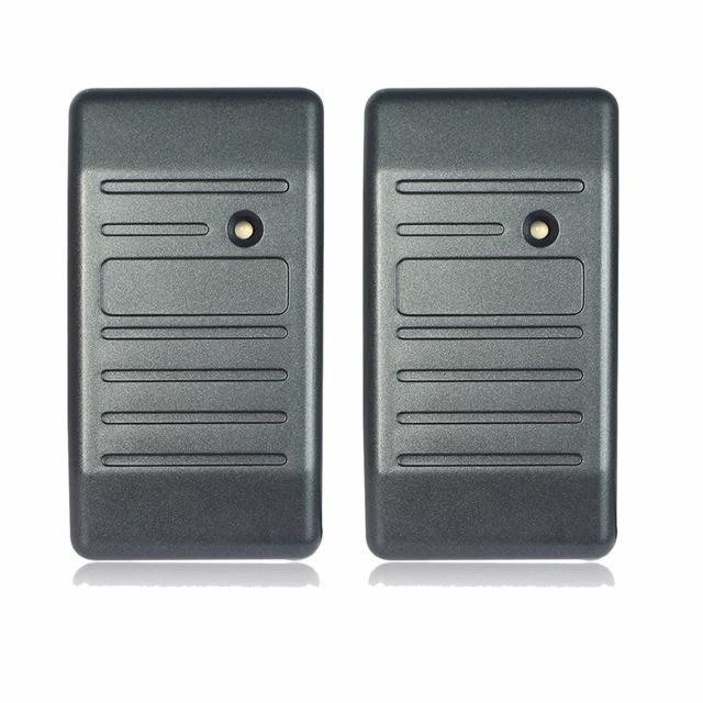 2 pcs Controle de Acesso de Proximidade RFID Para O Leitor de Cartão Wiegand 26/34 F1693H EM-ID 125 KHz Reader & Shell ABS À Prova D' Água