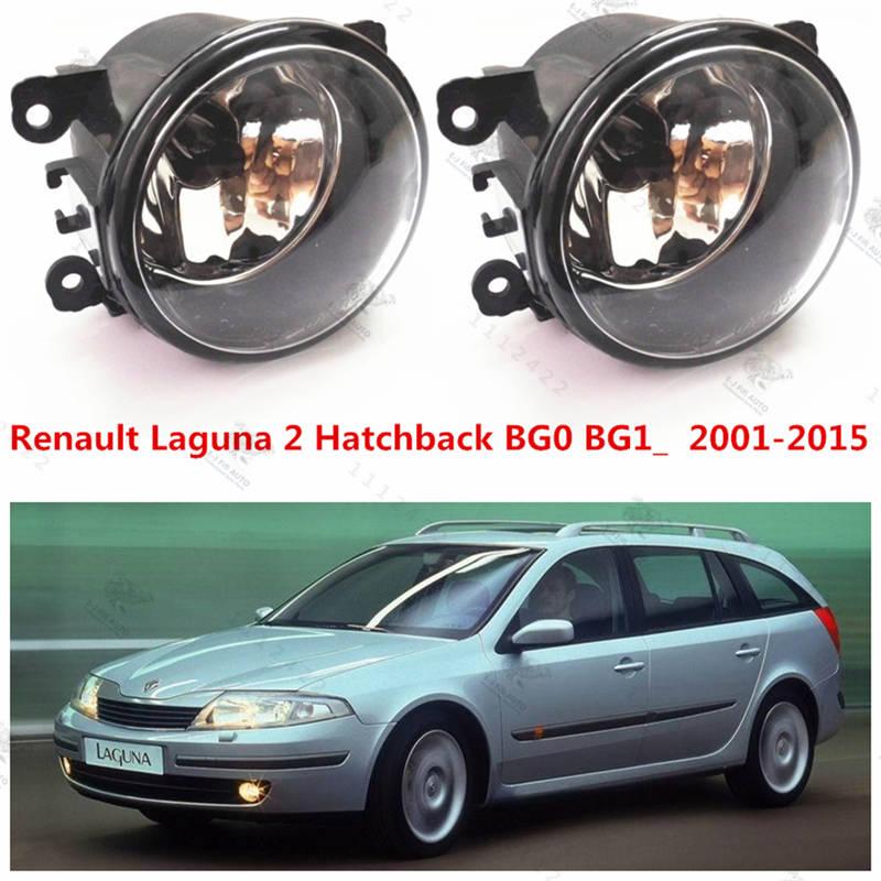 For renault LAGUNA 2  2001-2015  Front bumper fog lamps Original  Fog Lights Halogen car styling