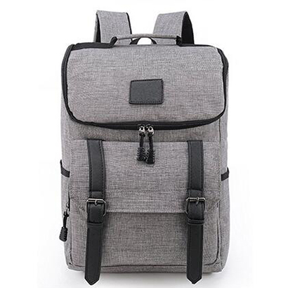 Lightweight Linen Leather Travel Backpack Women Rucksack School Bag Men laptop backpacks Daypack for School Working Teenage Girl 14 15 15 6 inch flax linen laptop notebook backpack bags case school backpack for travel shopping climbing men women