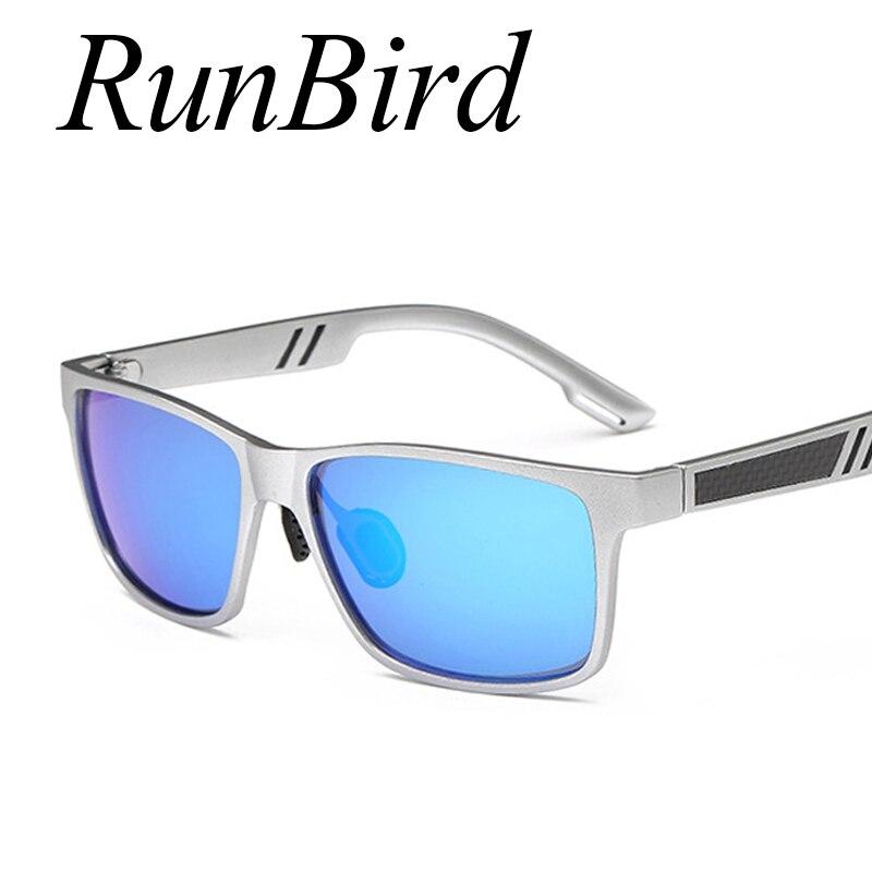 Fashion Polarized Sunglasses Men Fishing Sun Glasses for men UV400 Driving Male Eyewear Square Golf Goggle Oculos Shades 715R