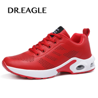 DR.EAGLE TENNIS WOMEN running shoes women sport shoes winter baskets homme cushioning leather white sneakers women sneaker