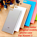 Original Style Mobile Phone Case For Xiaomi 3 Mi3 M3 WCDMA & TD-CDMA Back Shell Housing Door Battery Cover + SIM Card Tray