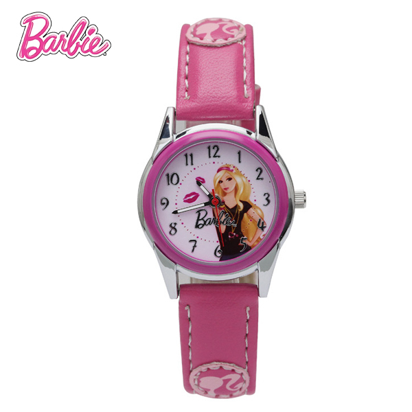 100% Genuine Barbie children Brand watch luxury watch women Fashion Casual Quartz watch relogio feminino BA00090-3
