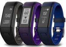 Garmin vivosmart HR + плюс сенсорный экран, монитор сна, пульсометр часы фитнес-трекер bluetooth smart Браслет