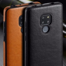 SLIM Luxury PU Leather  Case For Huawei Mate 20 20 Pro 20 Lite Back Thin Case Cover For Huawei P20 P20 lite P20 Pro P30 P30 Pro цена и фото