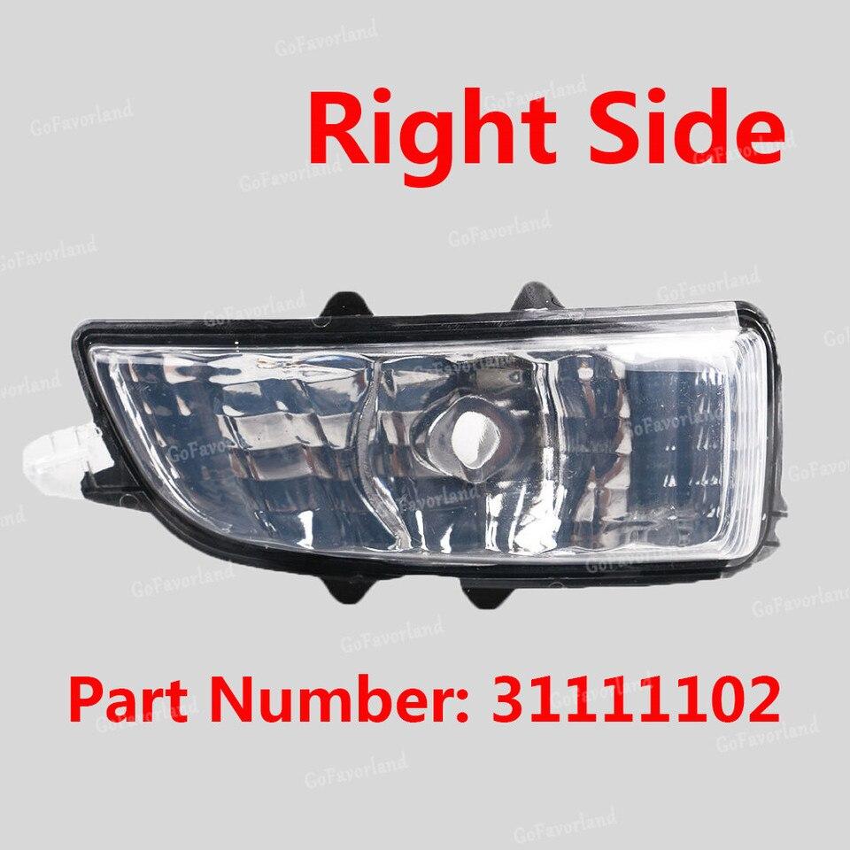 lato destro anteriore indicatore di direzione lampada ad angolo