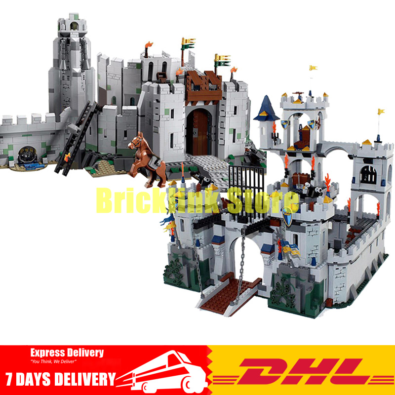 2018 DHL Lepin 16013+16017 The Lord of the Rings+The King\'s Castle Siege Building Blocks Bricks Toys 9474 7094 classic movie series king castle siege review building block mini ghost archer figures dark fiery dragon lepine bricks 7094 toys