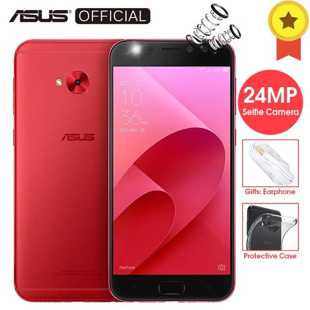 ASUS ZenFone 4 Selfie Pro ZD552KL Восьмиядерный процессор Snapdragon 625 24MP селфи Камера Android 7,1 4 ГБ Оперативная память 64 ГБ Встроенная память 5,5 'fhd телефон