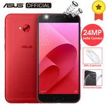 ASUS ZenFone 4 Selfie Pro ZD552KL Snapdragon 625 Octa Core 24MP Selfie Camera Android 7.1 4GB RAM 64GB ROM 5.5'FHD Telephone